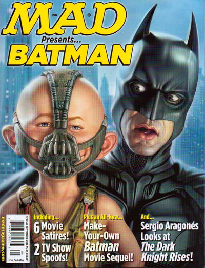 Cover for Mad Presents Batman (EC, 2012 series) #1
