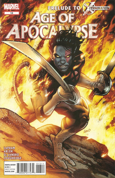 Cover for Age of Apocalypse (Marvel, 2012 series) #13