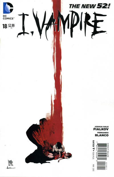 Cover for I, Vampire (DC, 2011 series) #18