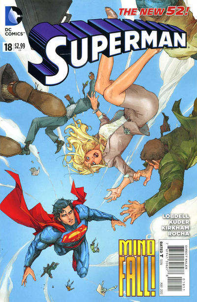 Cover for Superman (DC, 2011 series) #18