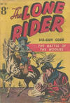 Cover for The Lone Rider (Horwitz, 1950 ? series) #11