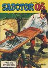 Cover for Sabotør Q5 (Serieforlaget / Se-Bladene / Stabenfeldt, 1971 series) #4/1976