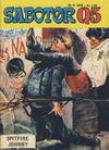 Cover for Sabotør Q5 (Serieforlaget / Se-Bladene / Stabenfeldt, 1971 series) #6/1976