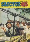 Cover for Sabotør Q5 (Serieforlaget / Se-Bladene / Stabenfeldt, 1971 series) #12/1976