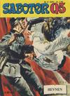 Cover for Sabotør Q5 (Serieforlaget / Se-Bladene / Stabenfeldt, 1971 series) #9/1976