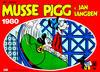 Cover for Musse Pigg & Jan Långben [julalbum] (Semic, 1972 series) #1980