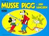Cover for Musse Pigg & Jan Långben [julalbum] (Semic, 1972 series) #1981