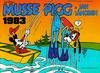 Cover for Musse Pigg & Jan Långben [julalbum] (Semic, 1972 series) #1983