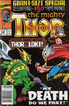 Cover for Thor (Marvel, 1966 series) #432 [Newsstand]