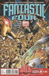 Cover for Fantastic Four (Marvel, 2013 series) #5AU