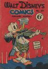 Cover for Walt Disney's Comics (W. G. Publications; Wogan Publications, 1946 series) #49