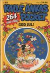 Cover for Kalle Ankas pocket (Richters Förlag AB, 1985 series) #89 - God Jul!