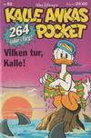 Cover for Kalle Ankas pocket (Richters Förlag AB, 1985 series) #92 - Vilken tur, Kalle!