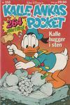 Cover for Kalle Ankas pocket (Richters Förlag AB, 1985 series) #102 - Kalle hugger i sten