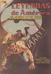 Cover for Leyendas de América (Editorial Novaro, 1956 series) #151