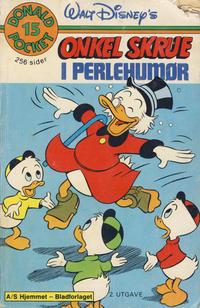 Cover Thumbnail for Donald Pocket (Hjemmet / Egmont, 1968 series) #15 - Onkel Skrue i perlehumør [2. opplag]