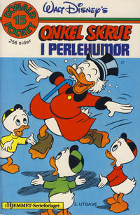 Cover Thumbnail for Donald Pocket (Hjemmet / Egmont, 1968 series) #15 - Onkel Skrue i perlehumør [3. opplag]