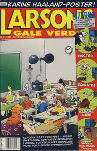 Cover Thumbnail for Larsons gale verden (Bladkompaniet, 1992 series) #8/1998