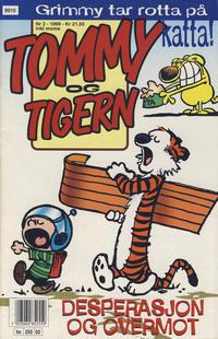 Cover Thumbnail for Tommy og Tigern (Bladkompaniet / Schibsted, 1989 series) #2/1999
