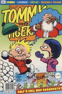 Cover Thumbnail for Tommy og Tigern (Bladkompaniet / Schibsted, 1989 series) #12/1998