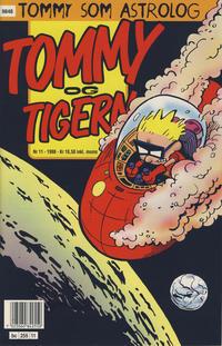 Cover Thumbnail for Tommy og Tigern (Bladkompaniet / Schibsted, 1989 series) #11/1998