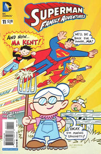 Cover Thumbnail for Superman Family Adventures (DC, 2012 series) #11 [Direct Sales]