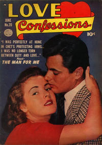 Cover Thumbnail for Love Confessions (Quality Comics, 1949 series) #20