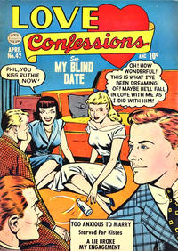 Cover Thumbnail for Love Confessions (Quality Comics, 1949 series) #42