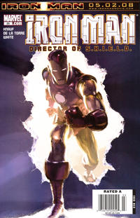 Cover Thumbnail for The Invincible Iron Man (Marvel, 2007 series) #25 [Newsstand Edition]