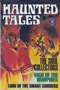 Cover for Haunted Tales (K. G. Murray, 1973 series) #7