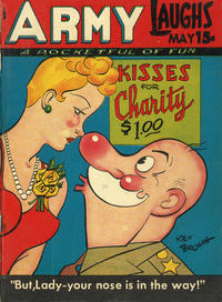 Cover Thumbnail for Army Laughs (Prize, 1941 series) #v7#2