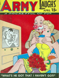 Cover Thumbnail for Army Laughs (Prize, 1941 series) #v7#1