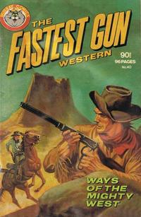 Cover Thumbnail for The Fastest Gun Western (K. G. Murray, 1972 series) #40