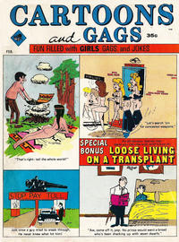 Cover Thumbnail for Cartoons and Gags (Marvel, 1959 series) #v16#1