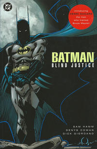 Cover Thumbnail for Batman: Blind Justice (DC, 1992 series) #[Second Printing]