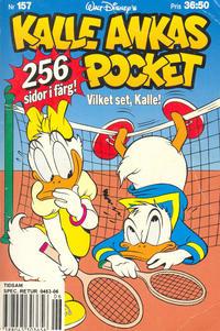Cover Thumbnail for Kalle Ankas pocket (Serieförlaget [1980-talet], 1993 series) #157 - Vilket set, Kalle!