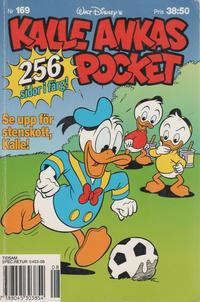 Cover Thumbnail for Kalle Ankas pocket (Serieförlaget [1980-talet], 1993 series) #169 - Se upp för stenskott, Kalle!