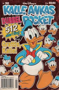 Cover Thumbnail for Kalle Ankas pocket (Serieförlaget [1980-talet], 1993 series) #168 - Grattis, Kalle!
