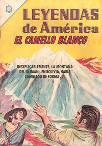 Cover Thumbnail for Leyendas de América (Editorial Novaro, 1956 series) #118
