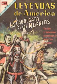 Cover Thumbnail for Leyendas de América (Editorial Novaro, 1956 series) #150