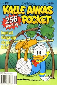 Cover Thumbnail for Kalle Ankas pocket (Serieförlaget [1980-talet], 1993 series) #182 - Inget att hänga upp sig på, Kalle!