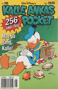 Cover Thumbnail for Kalle Ankas pocket (Serieförlaget [1980-talet], 1993 series) #196 - Mat på gång, Kalle!