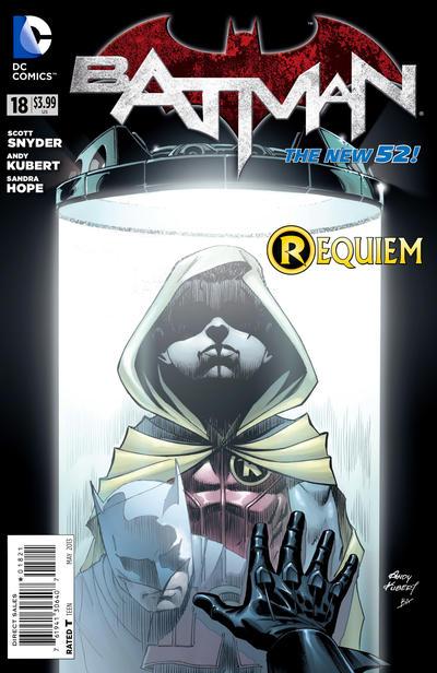 Cover for Batman (DC, 2011 series) #18 [Newsstand]