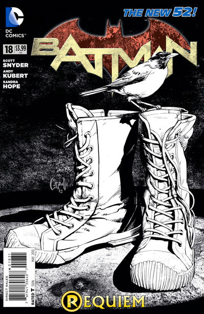Cover for Batman (DC, 2011 series) #18 [Combo-Pack]