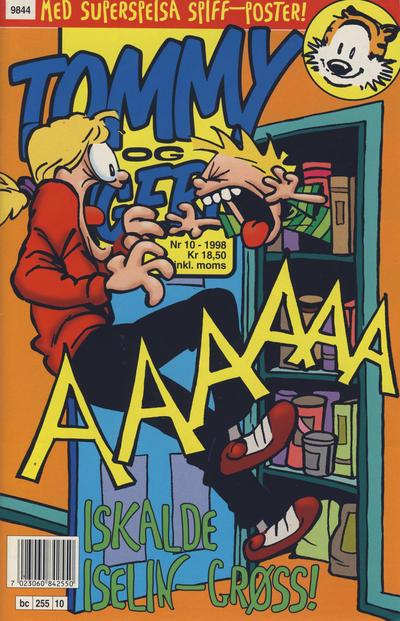 Cover for Tommy og Tigern (Bladkompaniet / Schibsted, 1989 series) #10/1998
