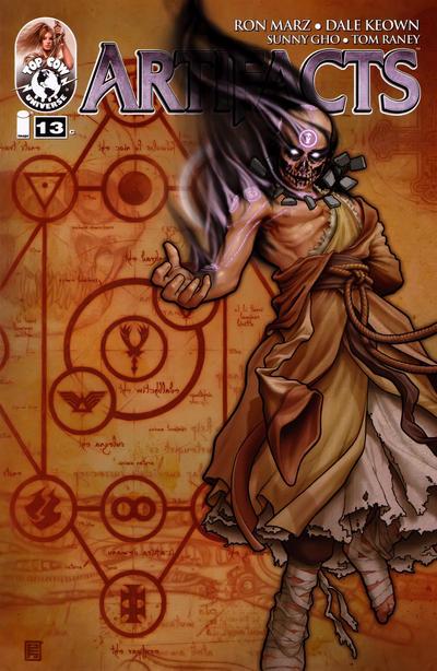 Cover for Artifacts (Image, 2010 series) #13 [Cover A]