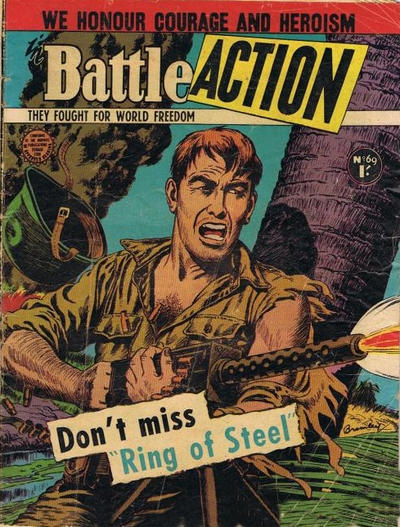 Cover for Battle Action (Horwitz, 1954 ? series) #69