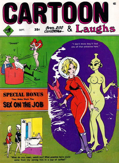 Cover for Cartoon Laughs (Marvel, 1962 series) #v8#5