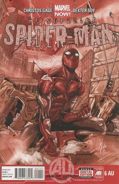 Cover for Superior Spider-Man (Marvel, 2013 series) #6AU
