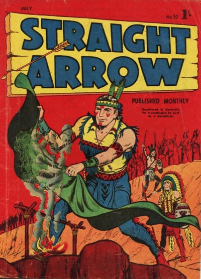Cover for Straight Arrow Comics (Magazine Management, 1955 series) #30